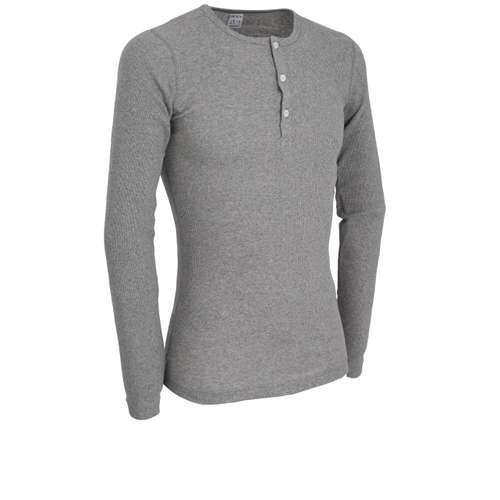 Bild von CECEBA Herren Unterhemd grau uni 1er Pack 330° Ansicht