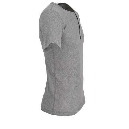 Bild von CECEBA Herren Unterhemd grau uni 1er Pack 290° Ansicht
