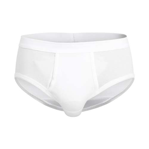 CECEBA Herren Slip weiß uni 1er Pack im 0° Winkel