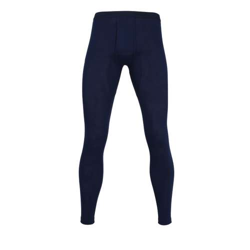 CECEBA Herren lange Unterhose blau uni 1er Pack im 0° Winkel