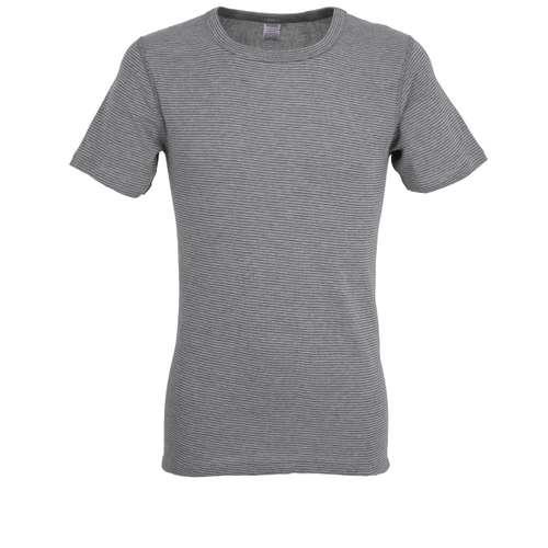 CECEBA Herren T-Shirt grau uni 1er Pack im 0° Winkel