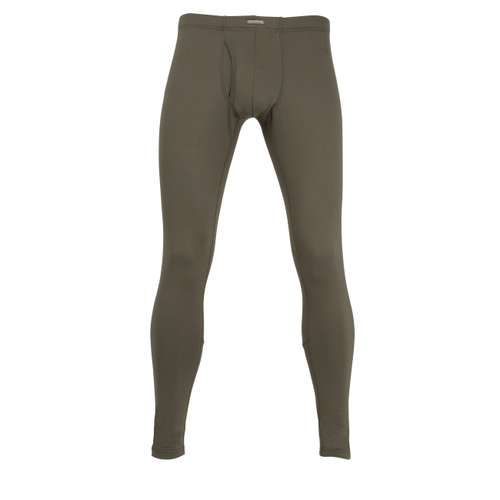 CECEBA Herren lange Unterhose grün uni 1er Pack im 0° Winkel