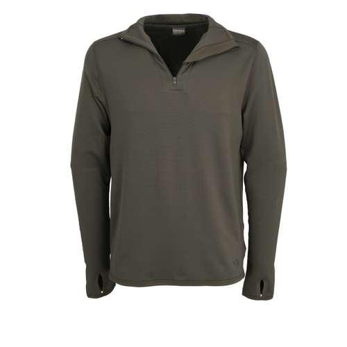 Bild von CECEBA Herren Unterhemd grün uni 1er Pack 0° Ansicht