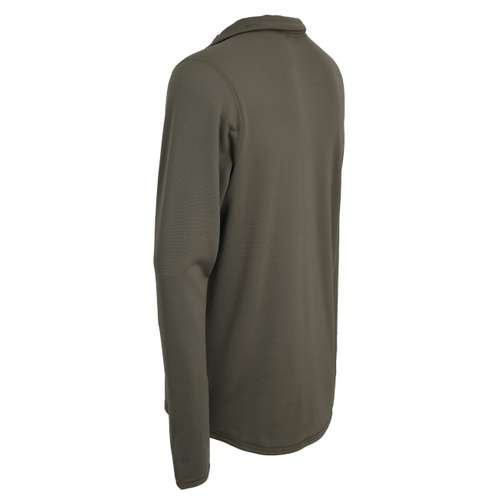 Bild von CECEBA Herren Unterhemd grün uni 1er Pack 120° Ansicht