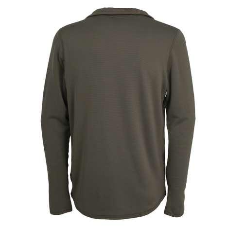 Bild von CECEBA Herren Unterhemd grün uni 1er Pack 180° Ansicht