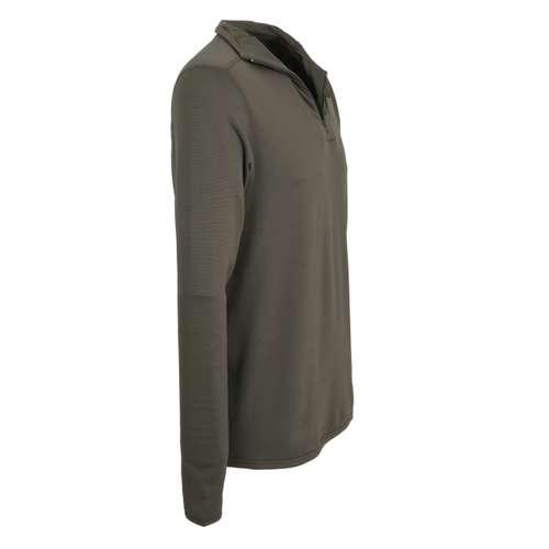 Bild von CECEBA Herren Unterhemd grün uni 1er Pack 290° Ansicht