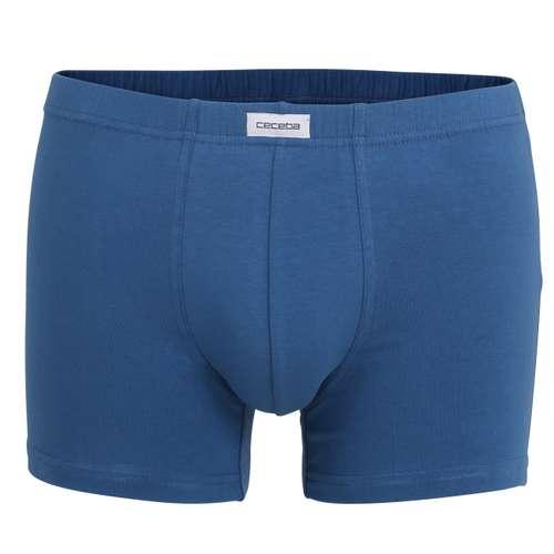 CECEBA Herren Pants blau uni 3er Pack im 0° Winkel