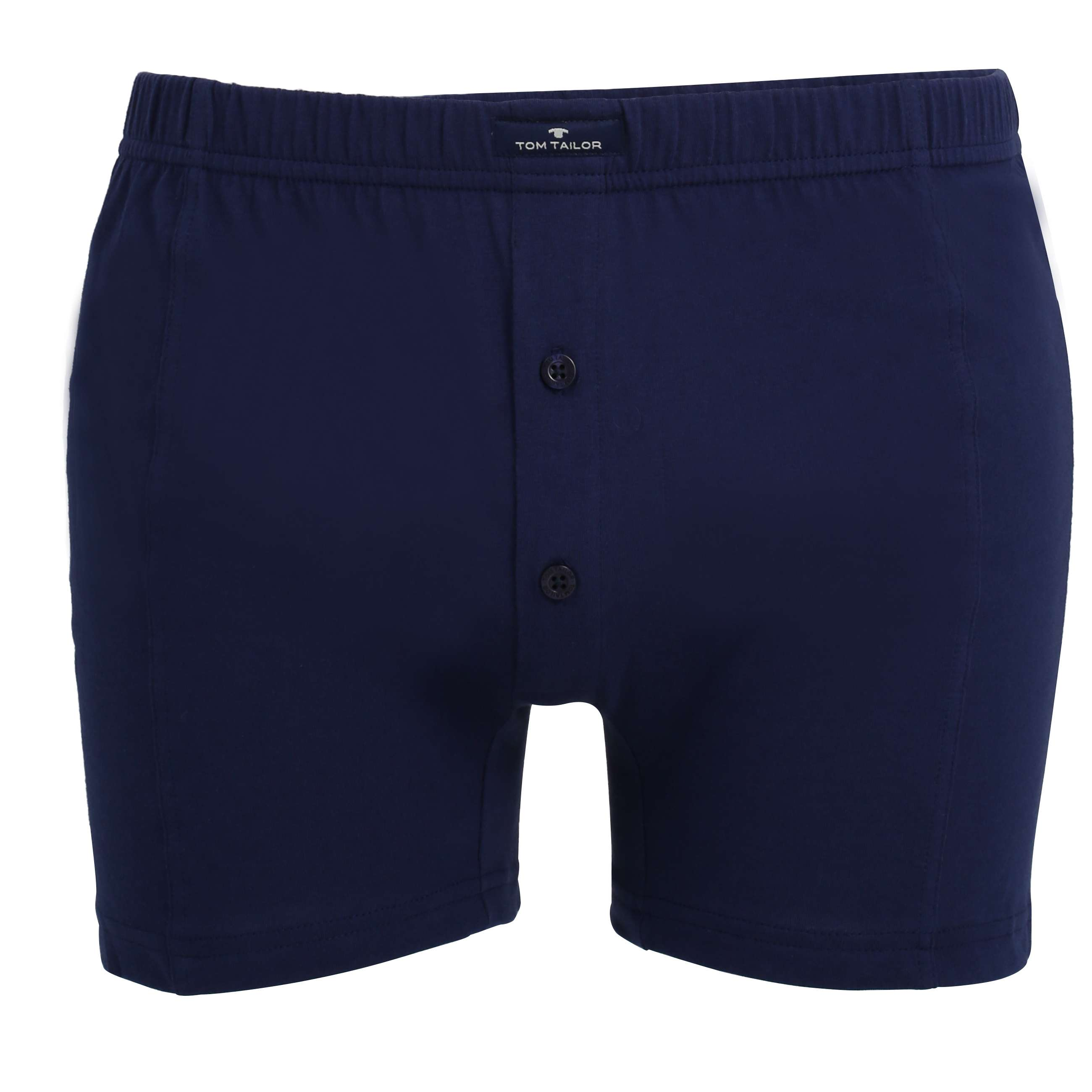 tom tailor herren boxershort blau uni 2er pack set. Black Bedroom Furniture Sets. Home Design Ideas