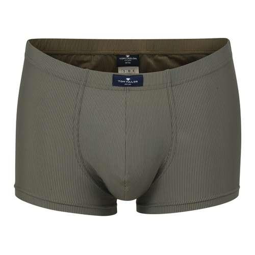 TOM TAILOR Herren Hip Pants grün längsgestreift 1er Pack im 0° Winkel