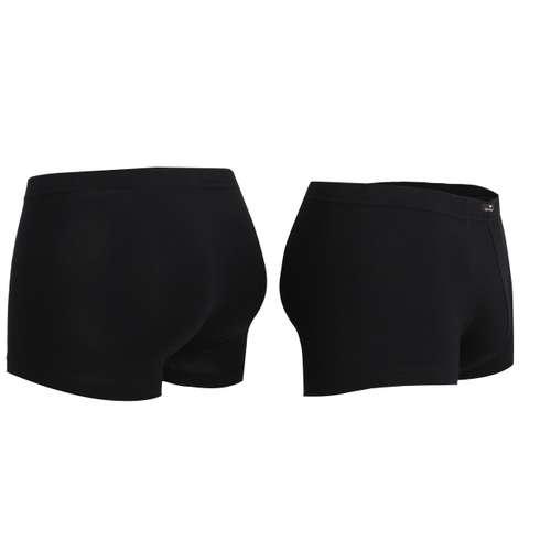 Bild von TOM TAILOR Herren Hip Pants schwarz uni 2er Pack 120° Ansicht