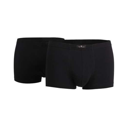 Bild von TOM TAILOR Herren Hip Pants schwarz uni 2er Pack 180° Ansicht
