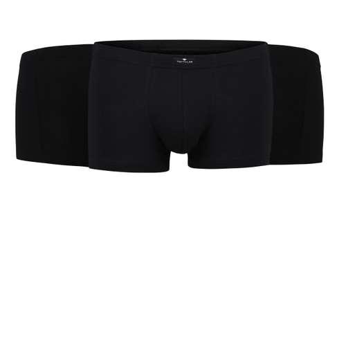 Bild von TOM TAILOR Herren Hip Pants schwarz uni 3er Pack 120° Ansicht
