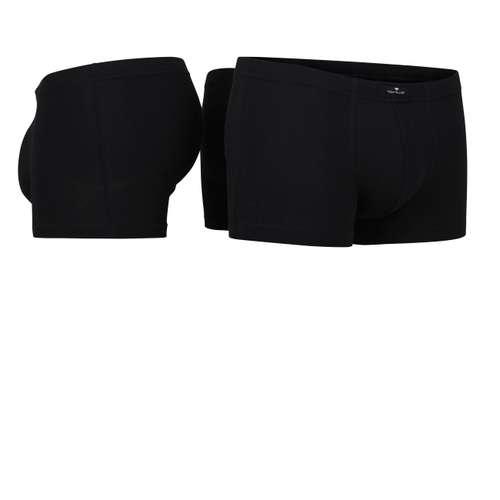 Bild von TOM TAILOR Herren Hip Pants schwarz uni 3er Pack 330° Ansicht