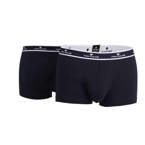 TOM TAILOR Herren Hip Pants blau melange 2er Pack im 0° Winkel