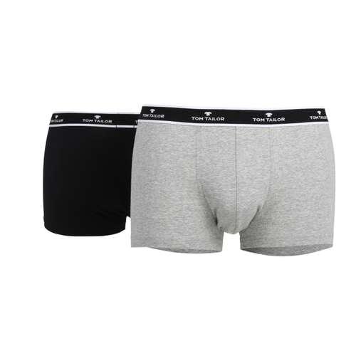 TOM TAILOR Herren Hip Pants grau melange 2er Pack im 0° Winkel