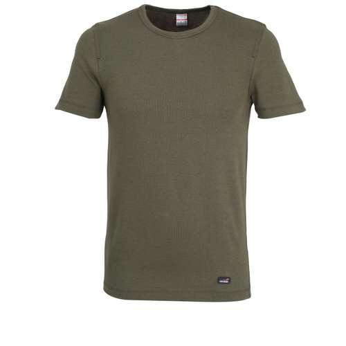 Bild von CECEBA Herren Unterhemd grün melange 1er Pack 0° Ansicht