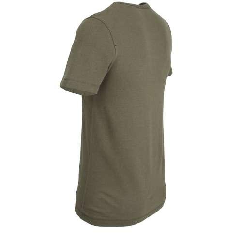 Bild von CECEBA Herren Unterhemd grün melange 1er Pack 120° Ansicht