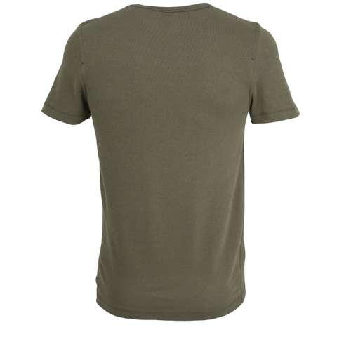 Bild von CECEBA Herren Unterhemd grün melange 1er Pack 180° Ansicht