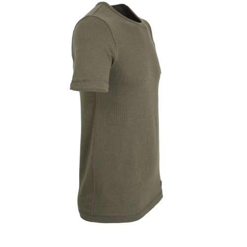 Bild von CECEBA Herren Unterhemd grün melange 1er Pack 290° Ansicht
