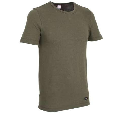 Bild von CECEBA Herren Unterhemd grün melange 1er Pack 330° Ansicht