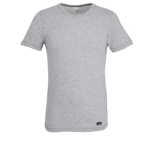 CECEBA Herren T-Shirt grau melange 1er Pack im 0° Winkel