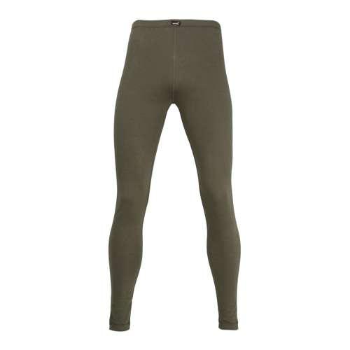 CECEBA Herren lange Unterhose grün melange 1er Pack im 0° Winkel