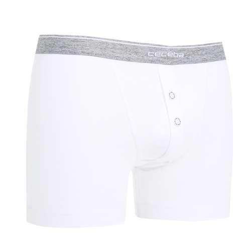 Bild von CECEBA Herren Long-Pants weiß uni 1er Pack 330° Ansicht