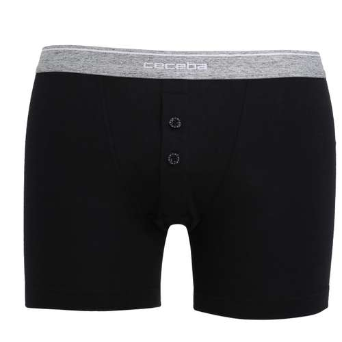 Bild von CECEBA Herren Long-Pants schwarz uni 1er Pack 0° Ansicht