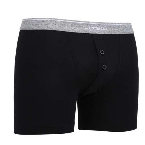 Bild von CECEBA Herren Long-Pants schwarz uni 1er Pack 330° Ansicht