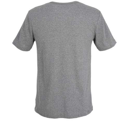 Bild von CECEBA Herren Unterhemd grau melange 1er Pack 180° Ansicht
