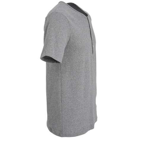 Bild von CECEBA Herren Unterhemd grau melange 1er Pack 290° Ansicht