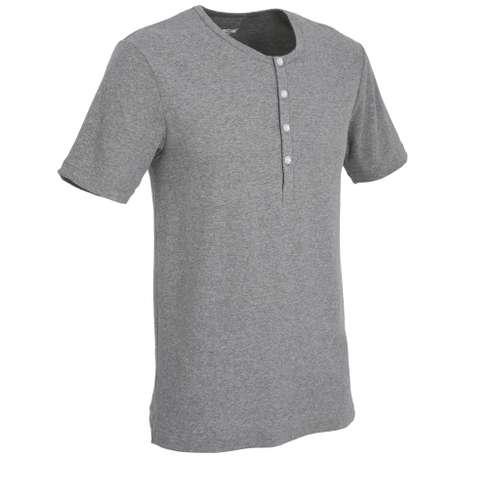Bild von CECEBA Herren Unterhemd grau melange 1er Pack 330° Ansicht
