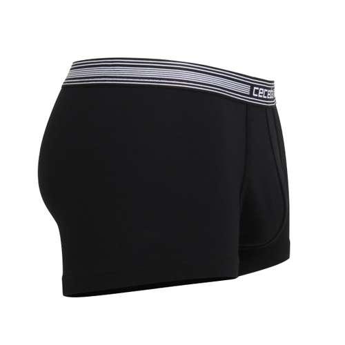 Bild von CECEBA Herren Pants schwarz uni 1er Pack 290° Ansicht