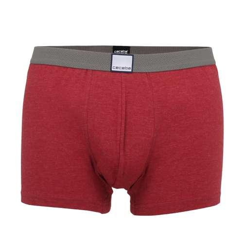 CECEBA Herren Pants rot melange 1er Pack im 0° Winkel