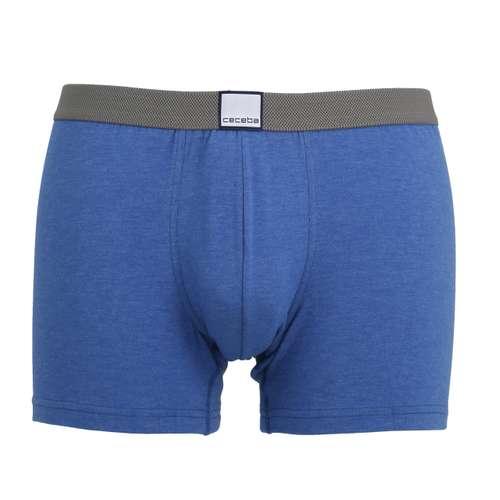 Bild von CECEBA Herren Pants blau melange 1er Pack 0° Ansicht