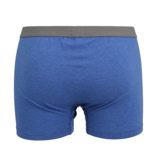 Bild von CECEBA Herren Pants blau melange 1er Pack 180° Ansicht