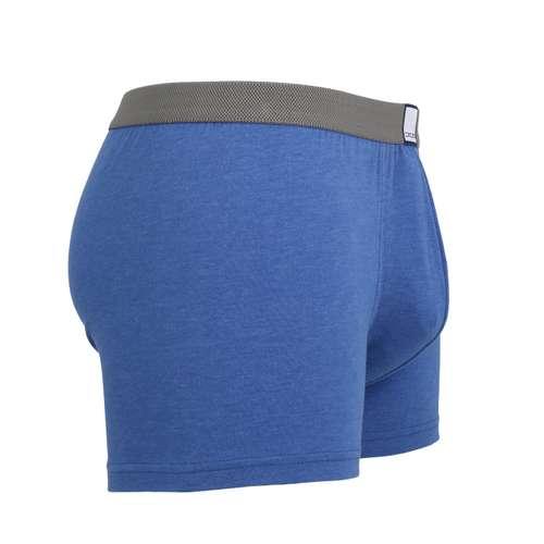 Bild von CECEBA Herren Pants blau melange 1er Pack 290° Ansicht