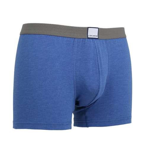 Bild von CECEBA Herren Pants blau melange 1er Pack 330° Ansicht