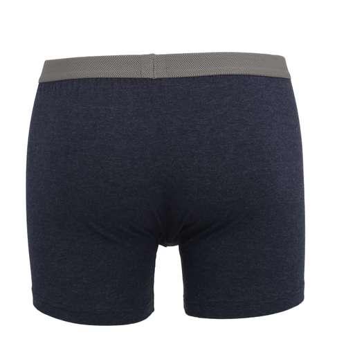 Bild von CECEBA Herren Long-Pants blau melange 1er Pack 180° Ansicht
