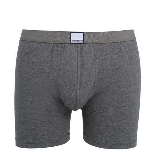 CECEBA Herren Long-Pants grau melange 1er Pack im 0° Winkel