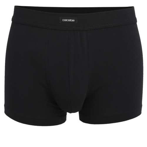 CECEBA Herren Pants schwarz uni 1er Pack im 0° Winkel