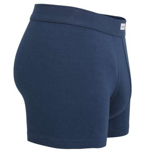 Bild von CECEBA Herren Long-Pants blau uni 1er Pack 290° Ansicht