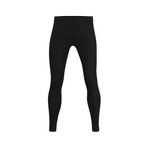 CECEBA Herren lange Unterhose schwarz uni 1er Pack im 0° Winkel