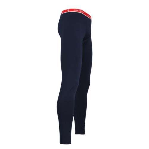 Bild von CECEBA Herren lange Unterhose blau uni 1er Pack 290° Ansicht