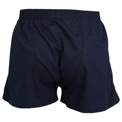 Bild von CECEBA Herren Boxershort blau uni 1er Pack 180° Ansicht