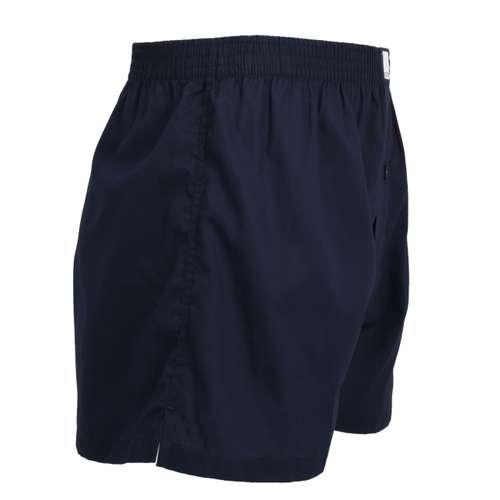Bild von CECEBA Herren Boxershort blau uni 1er Pack 290° Ansicht