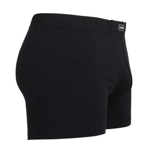Bild von CECEBA Herren Pants schwarz uni 2er Pack 290° Ansicht