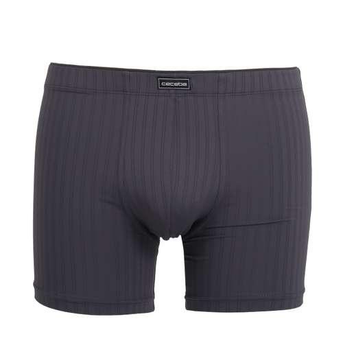 Bild von CECEBA Herren Long-Pants grau Struktur 1er Pack 0° Ansicht