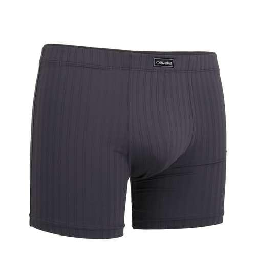Bild von CECEBA Herren Long-Pants grau Struktur 1er Pack 330° Ansicht