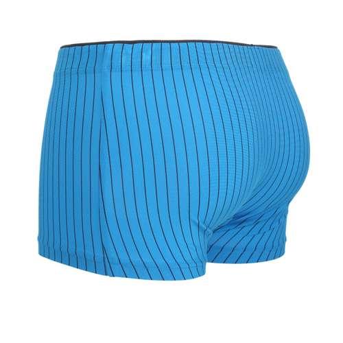 Bild von CECEBA Herren Hip Pants blau längsgestreift 1er Pack 120° Ansicht
